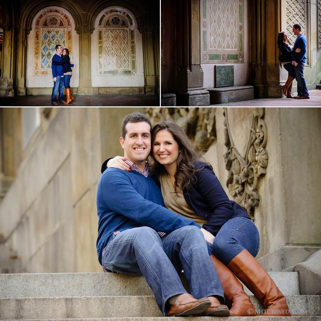 central park engagement photo ideas