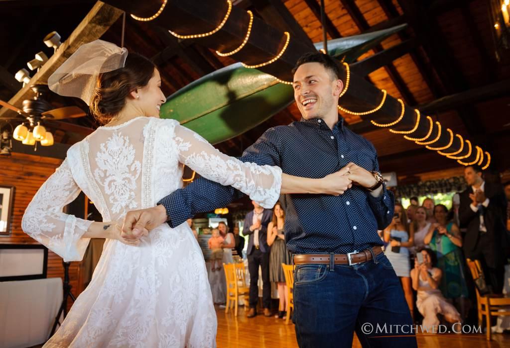 wedding in the adirondack mountains