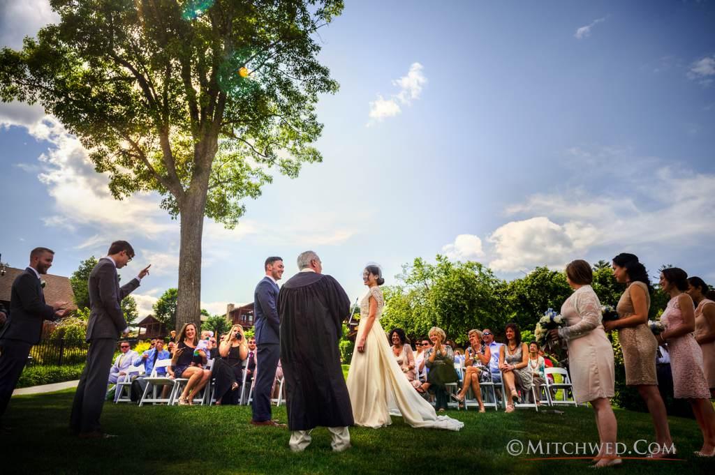 adirondack outdoor wedding