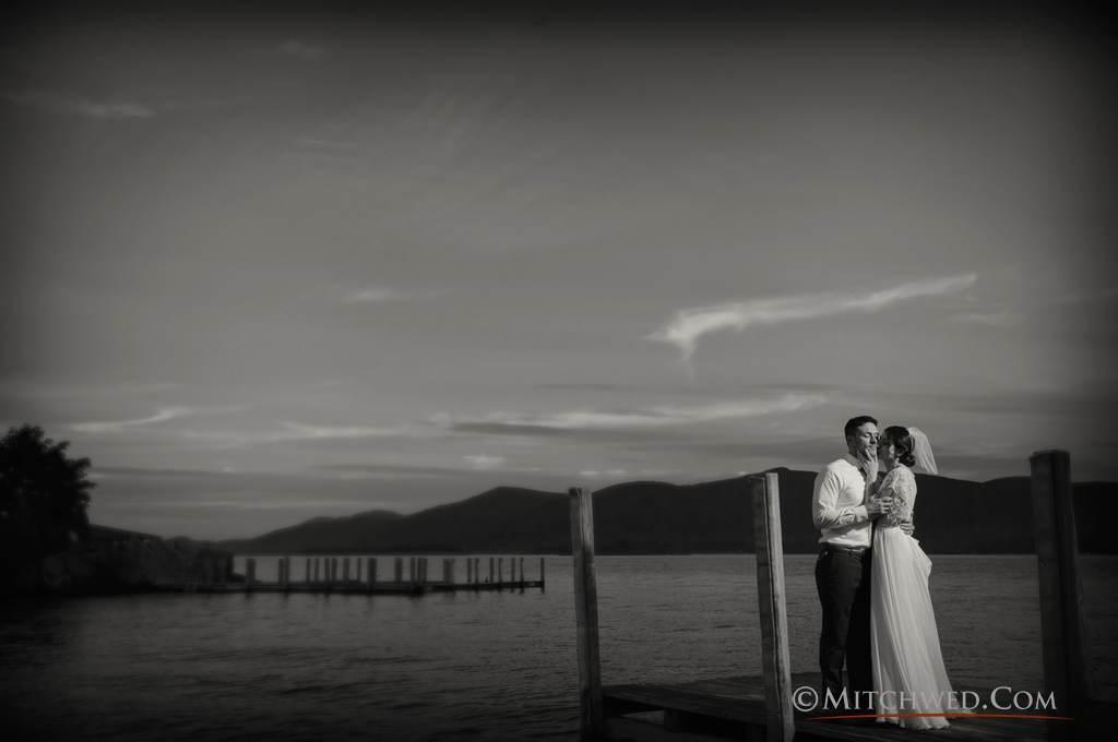 Outdoor Adirondack wedding location