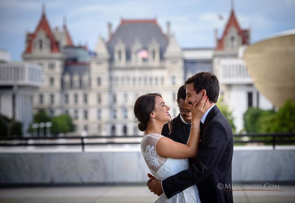 empire state plaza wedding photos