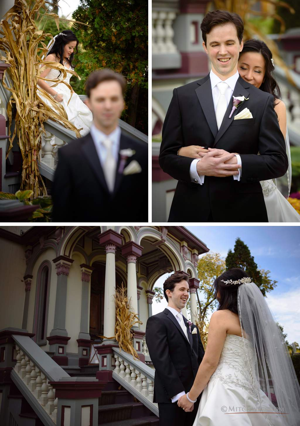 Wedding photography Batcheller Mansion Saratoga Springs