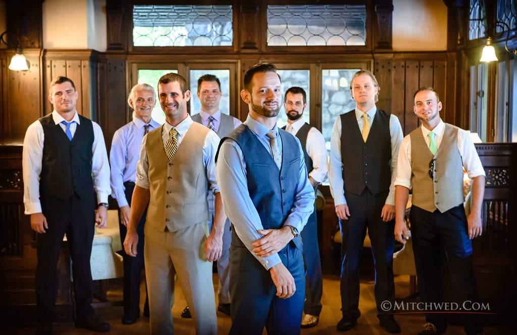 Wedding photos Mohonk Mountain House