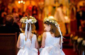Wedding Flower Girls – Albany wedding photographers