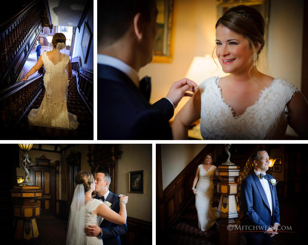 first look wedding photos saratoga