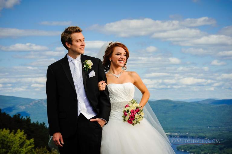 Fort William Henry wedding