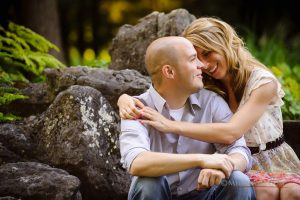 Alex + Steve's Yaddo Engagement Photos – Saratoga Springs Wedding Photographer