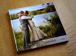 Coffee Table Book from Meredith + Lou's Albany County Wedding